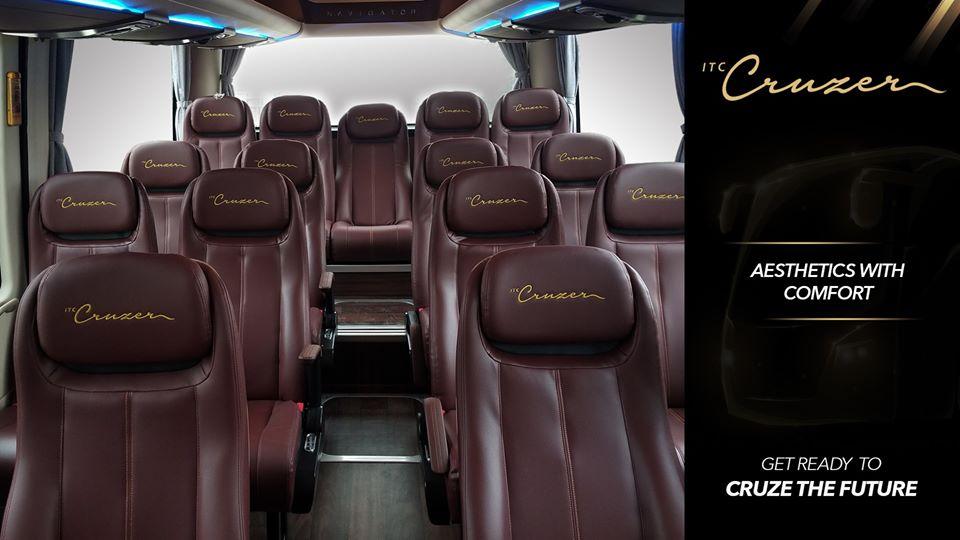 itc cruzer seats