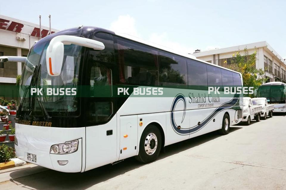 shahid coach yutong master luxury bus