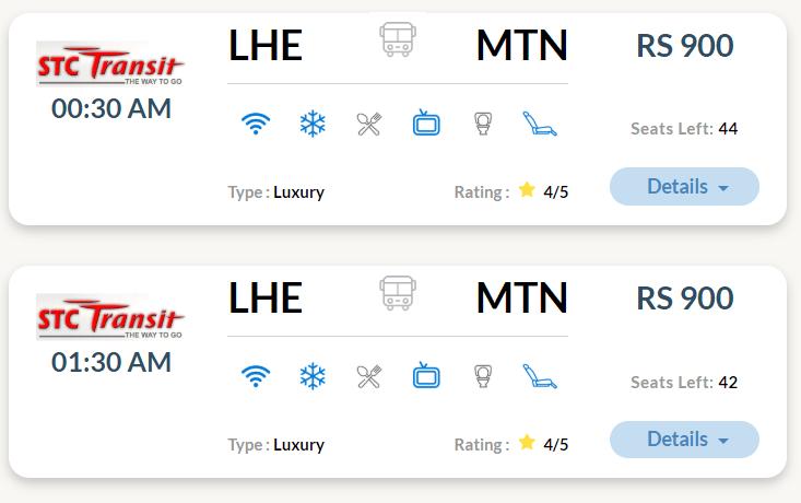 stc transit online booking