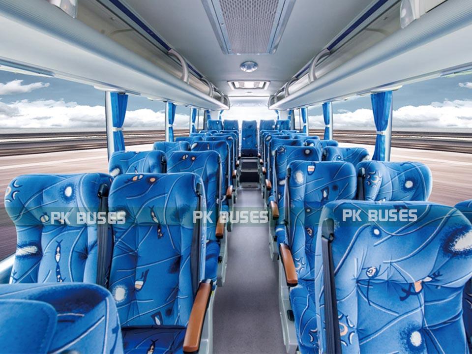 faisal movers mini yutong bus seats