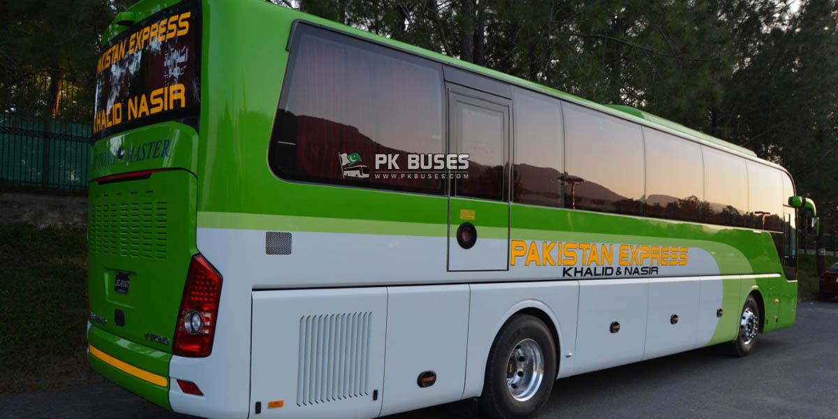 pakistan express khalid nasir yutong master bus luxury