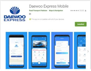 daewoo express mobile app