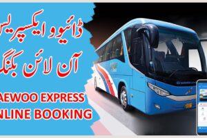 Daewoo Express Online Booking