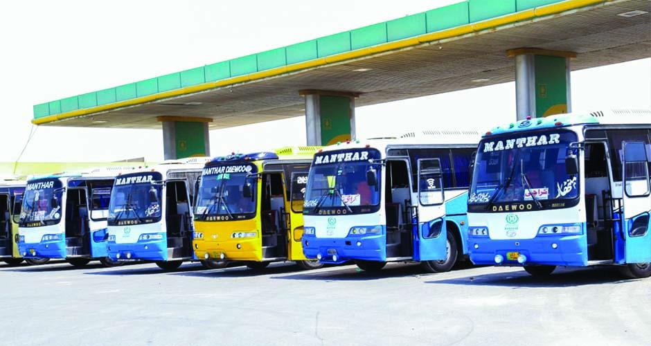 Manthar Transport Daewoo Bus Group