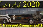 Faisal movers is Number 1 Bus Company of 2020 in Pakistan