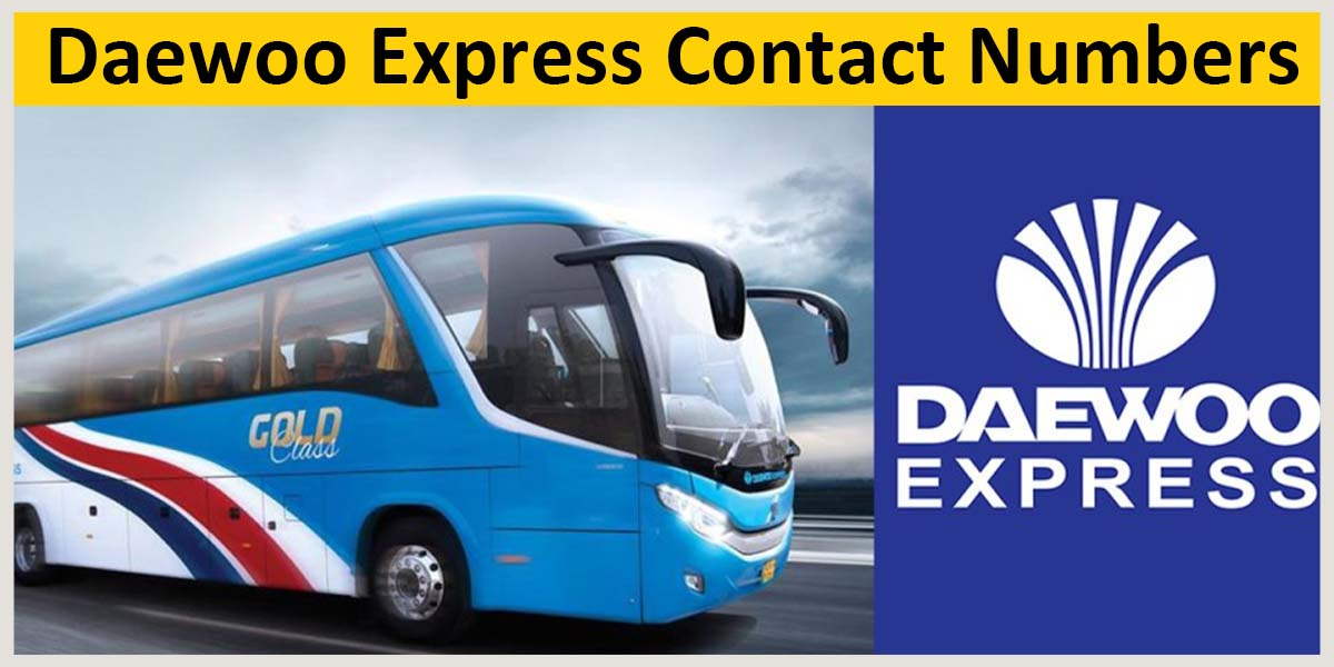 daewoo express contact numbers and helpline