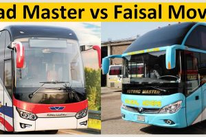 Road Master vs Faisal Movers