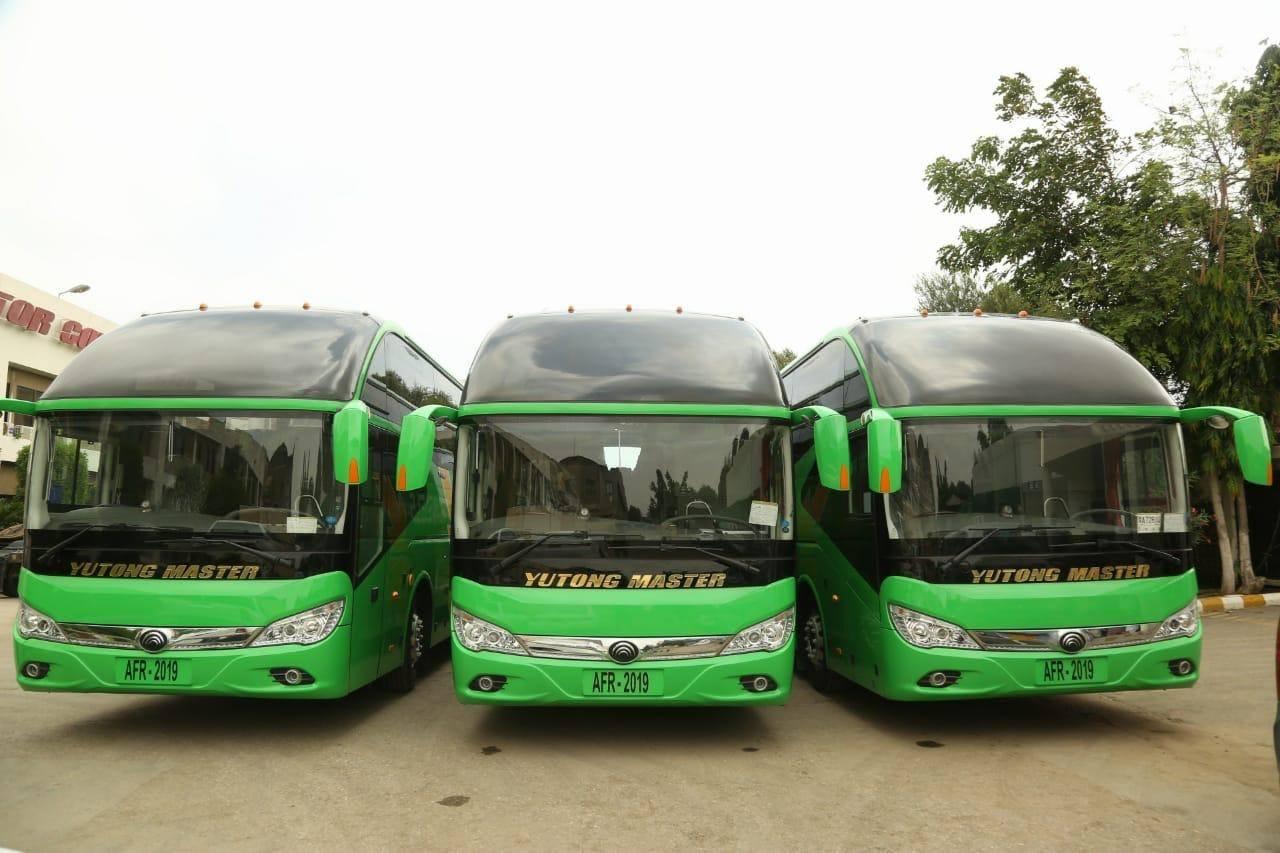 kaimaKainat Travel Bus Service Islamabad to Karachi