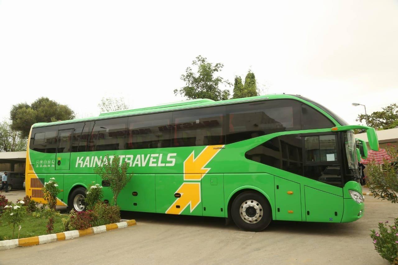 Kainat Travels New Yutong BUs