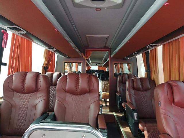SHaheen Express bus seats