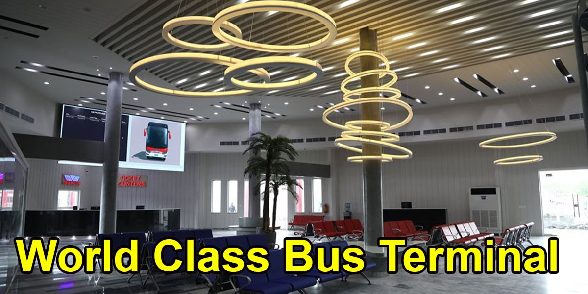 World Class Bus Terminal of Road Master