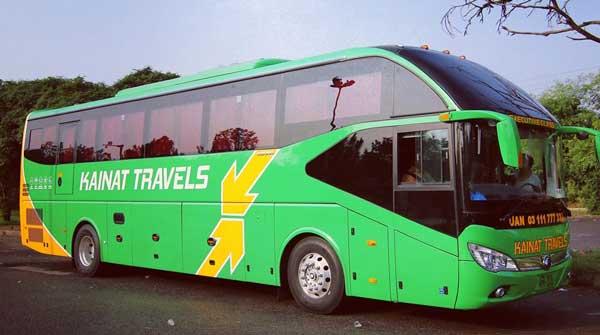 kainat travels Yutong Bus Lahore to Karachi