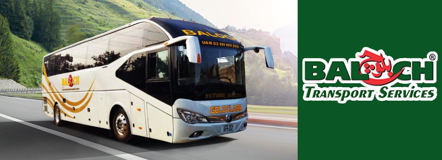 baloch transport new gold class bus