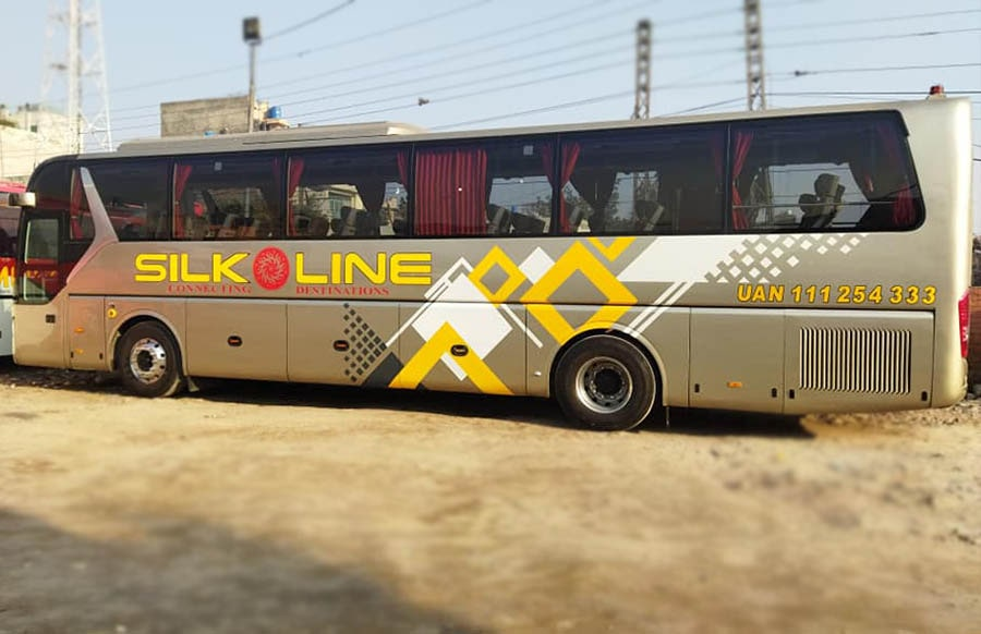 silk line new bus