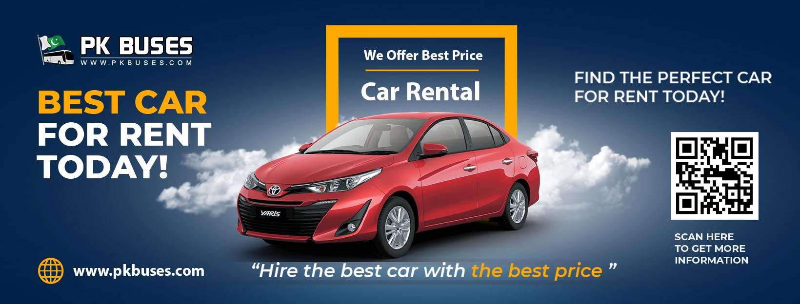 best rent a car in Lahore