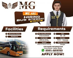 Manthar group is looking for bus steward