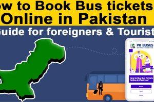 How to Buy Bus Tickets Online in Pakistan?