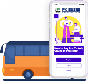 how to buy bus tickets online in Pakistan of Faisal Movers, Daewoo express and other bus companies