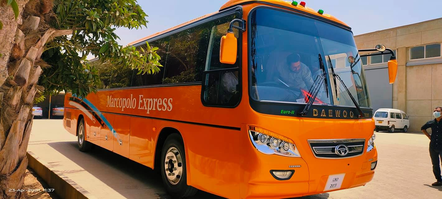 marcopolo express, luxury bus service between islamabad and gilgit