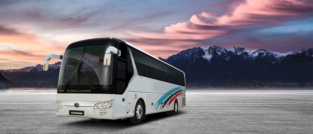 Yutong Master Charisma bus for sale in Pakistan