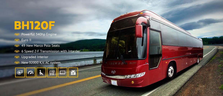 daewoo pakistan bh120f model luxury bus